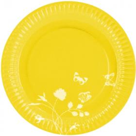 Summer Yellow Dinner Plates