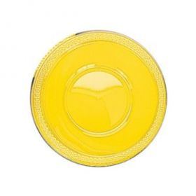Sunshine Yellow Plastic Party Bowls 20pk