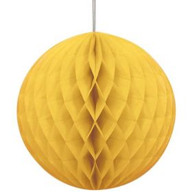 Honeycomb Sun Yellow Ball Party Decoration 8""