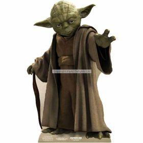Yoda Cardboard Mini Cutout 76cm