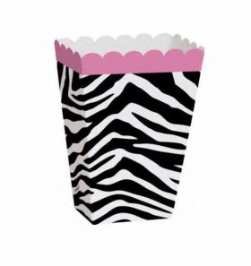 Zebra Passion Treat Boxes 8pk