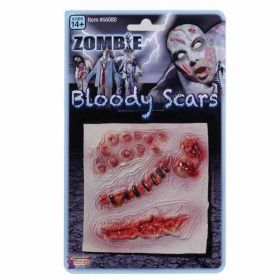 Halloween Special Effects Makeup - Zombie Scars