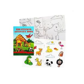 Zoo Sticker Activity Book