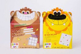 Lion & Monkey Party Boxes pk2