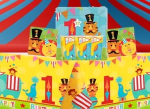 1st birthday party packs