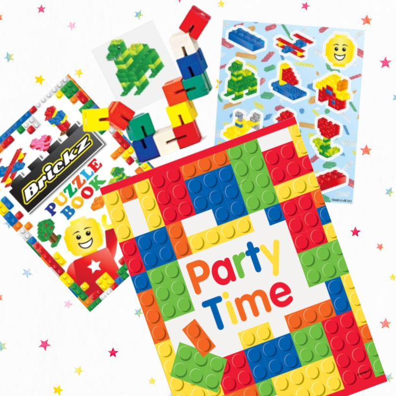 Building Block Party Bags