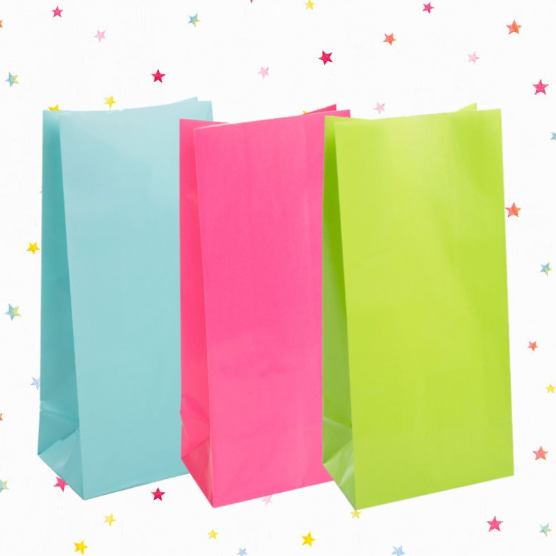 Plain Paper Party Bags