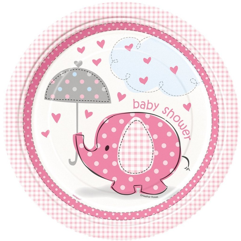 Umbrellaphants Girl Baby Shower