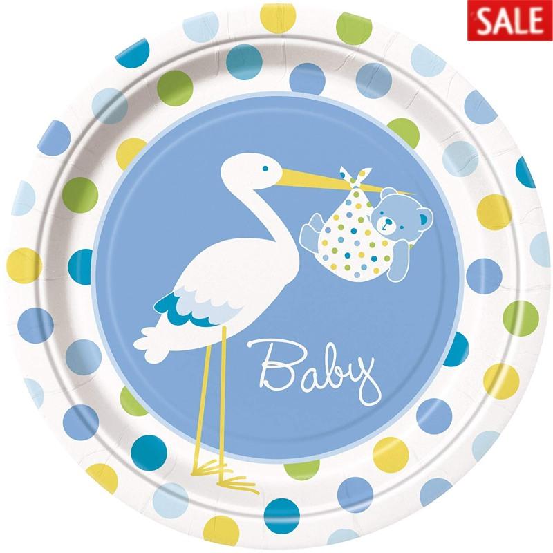 Stork Boy Baby Shower
