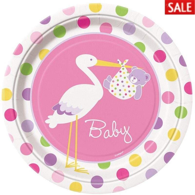 Stork Girl Baby Shower