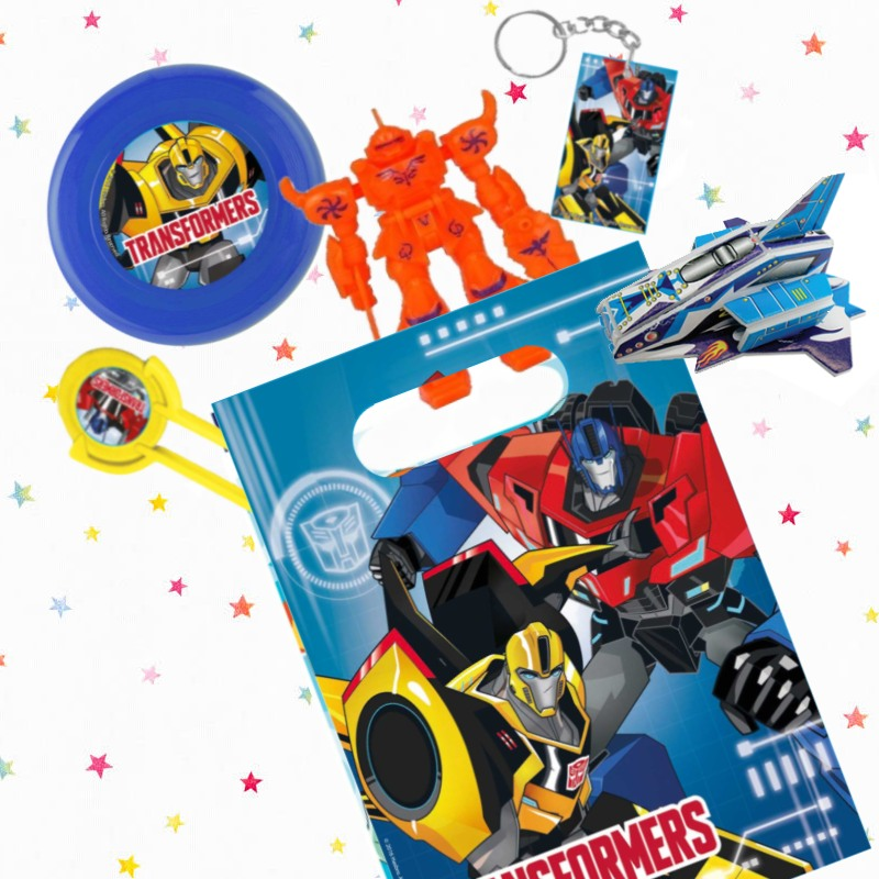 Transformers Party Bags