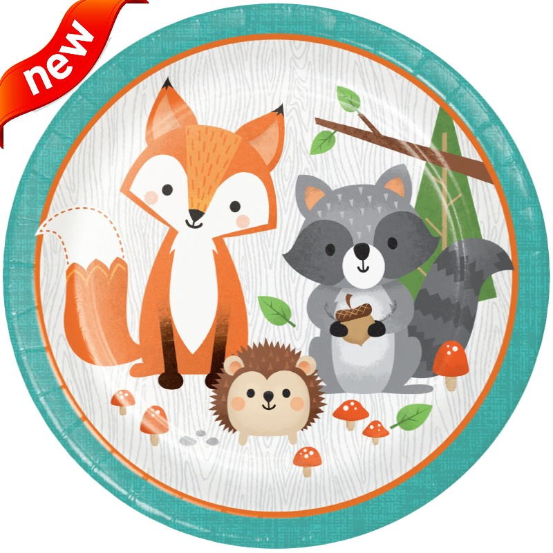 Wild Woodland Animals Party Supplies