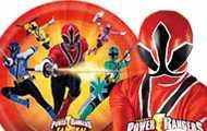 Power Rangers Samurai party