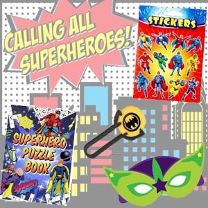 Superhero Fillers